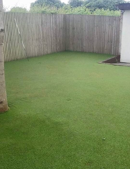 Artificial grass cleaning - lawn all cleaned